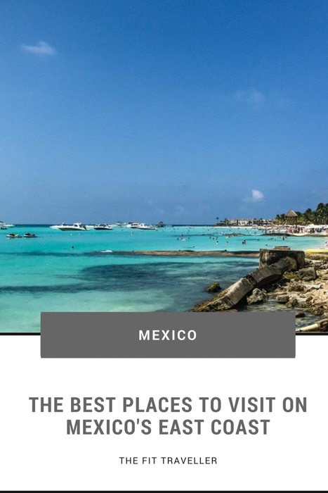 Best Places to Visit on Mexico's East Coast | Cancun to the Riviera Maya. A guide for the best places to visit on Mexico's Yucatán Peninsula whether you want to party, honeymoon or explore on one of the riviera maya excursions. ********** Best places on the Yucatan Peninsula | Riviera Maya Hotels | Riviera Maya | Quintana Roo | Quintana Roo Hotels | Things to do in Quintana Roo | Things to do on the Yucatan Peninsula | Mexico beaches | Mexico Honeymoon | Where to go in Mexico | Mexico Travel Guide |
