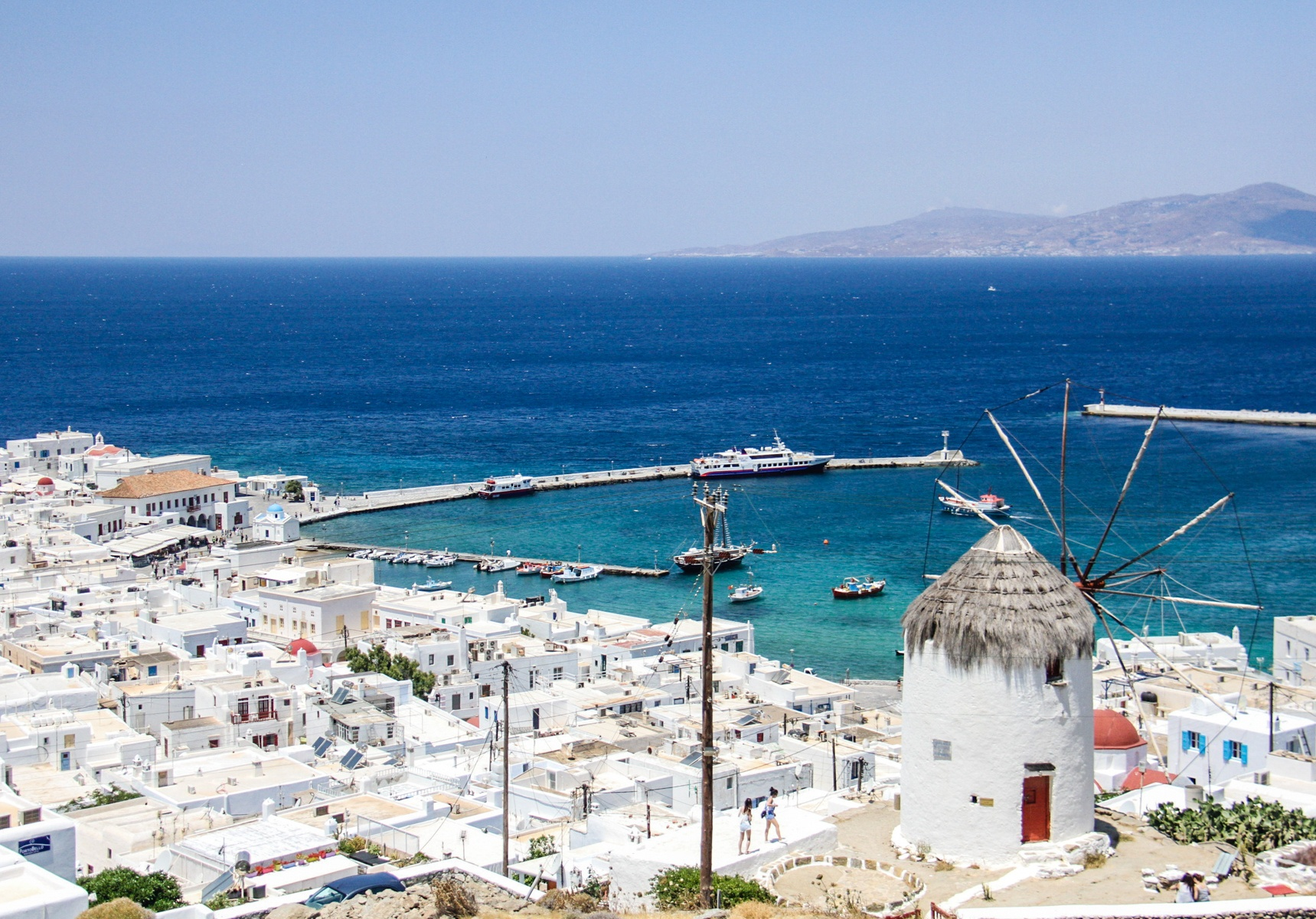Best photography spots in Mykonos
