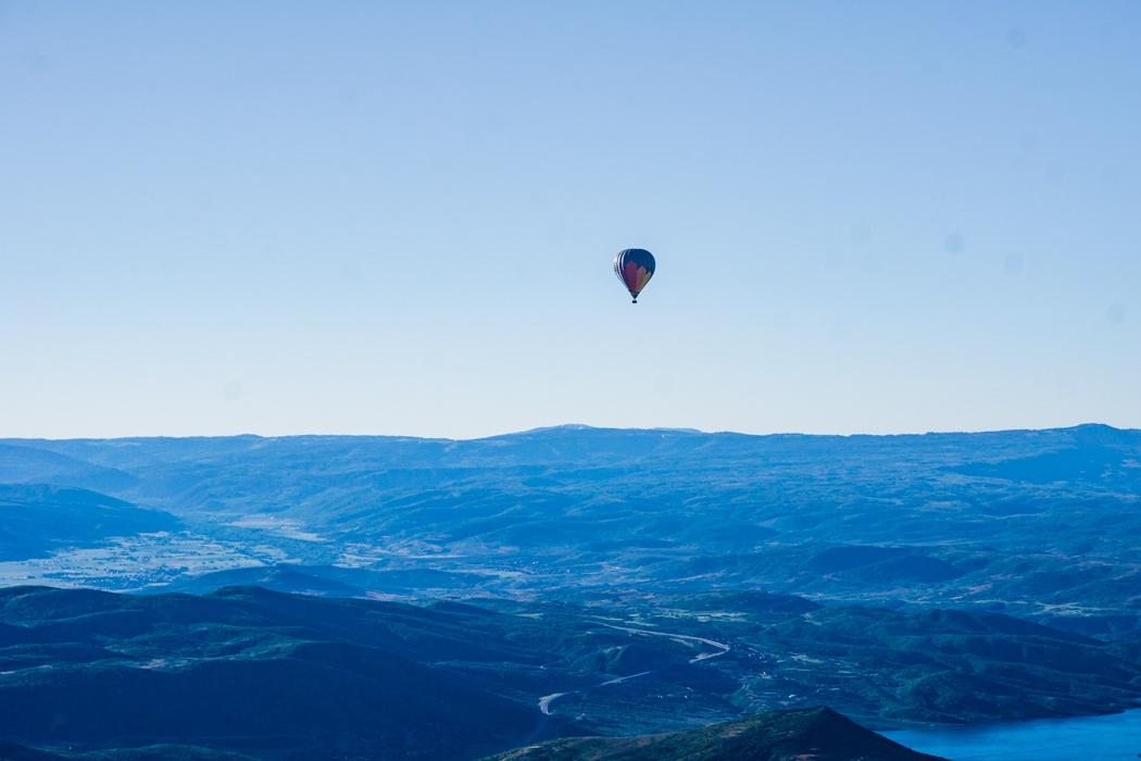 Park city Utah ballooning