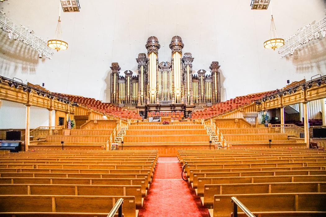 Tabernacle in Salt Lake City