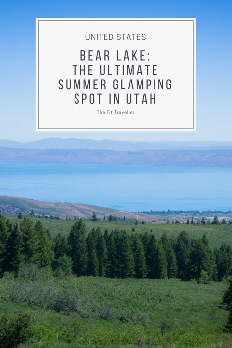 Bear Lake Glamping | What to do in Bear Lake | Bear Lake Utah | Things to do Bear Lake | Summer in Bear Lake Utah | Camping in Bear Lake | Things to do in Bear Lake Utah | Utah Road Trip | #visitutah #bearlake #utah #northernutah #outdoorculture #adventuretravel