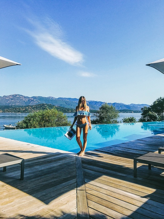 Casadelmar and La Plage | A Luxury Hotel Stay in Porto-Vecchio, Corsica. Casadelmar, a magical hotel in Porto-Vecchio Corsica with sister property La Plage showcase modern design, Michelin-star food and friendly hospitality. ***** Where to stay in Corsica | Hotel Porto-Vecchio Corsica | Port-Vecchio Corsica | What to do in Porto-Vecchio Corsica | Where to stay in Corsica | Corsica, France | Summer in Corsica | 5 star hotel Corsica | Yoga Retreats Corsica