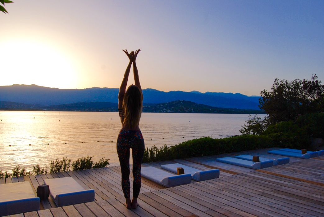 yoga retreat corsica
