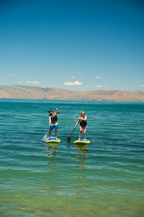 "Bear Lake - The Ultimate Summer Glamping Spot in Utah. Bear Lake, known as the ""Caribbean of the Rockies"" is the ideal Utah destination for anything from hiking to famous bear lake glamping. Here is your guide. ***** Bear Lake Glamping 