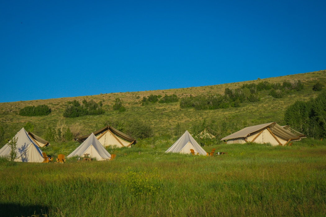 bear lake glamping