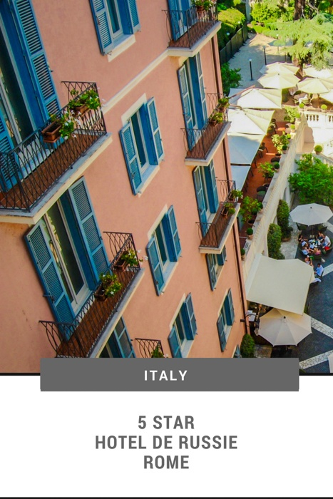 Hotel de Russie | Five Star Hotels in Rome | 5 Star Rome Hotels | Where to Stay in Rome | Things to do in Rome | Hotel Russie Rome | Hotel de Russie Rome | De Russie Hotel Rome | Luxury Hotels Rome | Rome Hotel Reviews | Top Hotels in Rome | Best Hotels in Rome | #rome #luxuryhotels #5starhotels #visititaly #luxurytravel