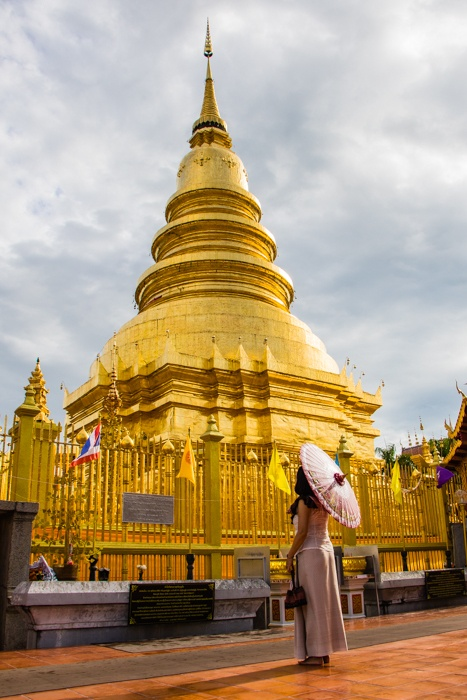 What to see in Lamphun thailand