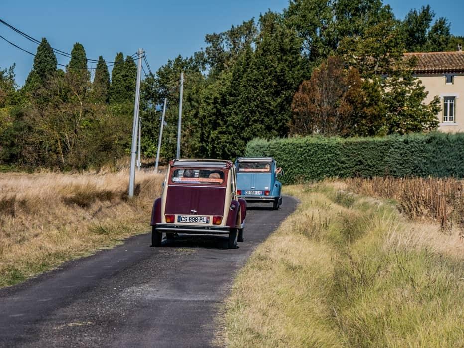 vintage car hire france