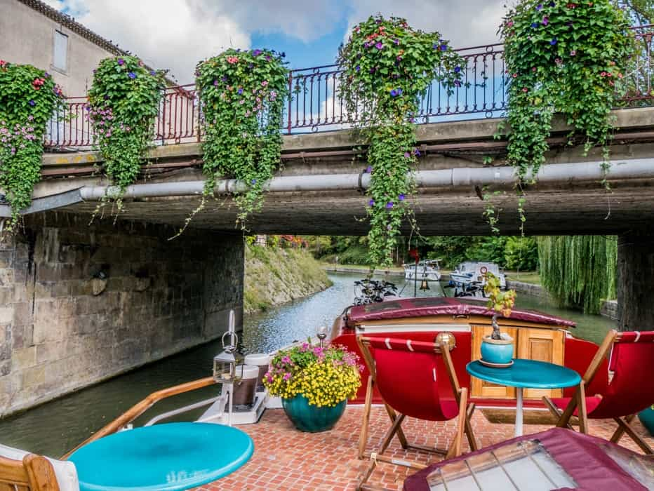 canal boats france