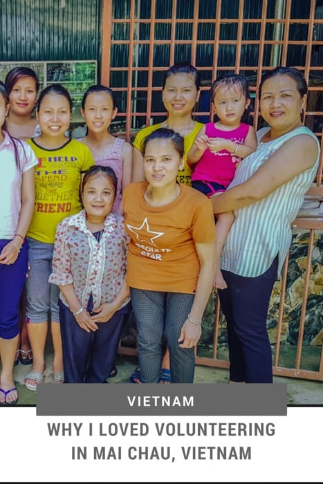 Mai Chau Homestay | Why I Loved Volunteering in Mai Chau, Vietnam | Mai Chau Vietnam | Mai Chau Tours | Mai Chau Village | Mai Chau Cycling Tours | Mai Chau Tourism | Hanoi to Mai Chau | Things to do in Mai Chau | Volunteering Abroad | #volunteeringabraod #vietnam #Maichau #hoaban