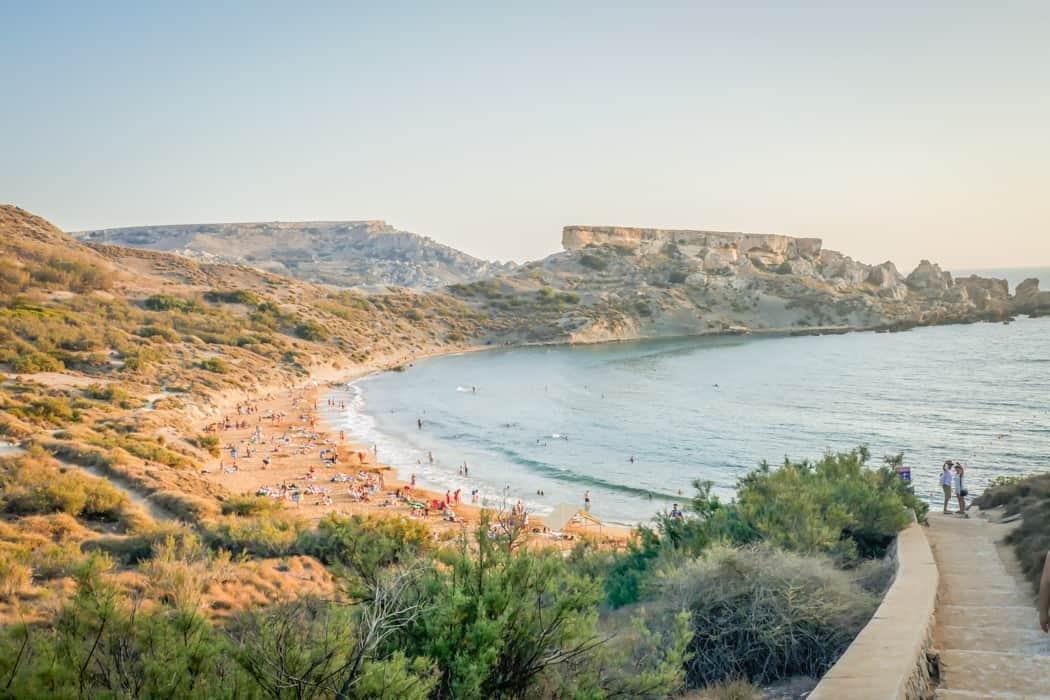 best malta beaches