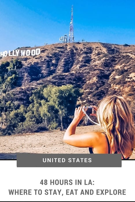 48 hours in LA doesn't allow too much time to see the city's sights. Thiis LA travel guide will help you plan your visit from where to stay in LA, things to do in Los Angeles and the best LA cafes. | Los Angeles things to do in | Top Things to do LA | LA Must-See | What to see in LA | Things to do in Los Angeles California | Los Angeles California | Where to Eat in LA | Los Angeles Travel Tips | Los Angeles Photography | Where to Stay in Los Angeles | Los Angeles travel guide | Los Angeles Photography | #losangeles via @thefittraveller