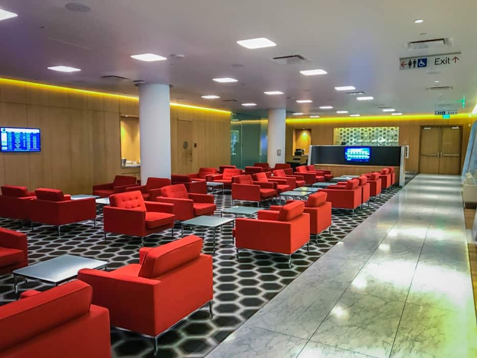 Qantas First Lounge LA