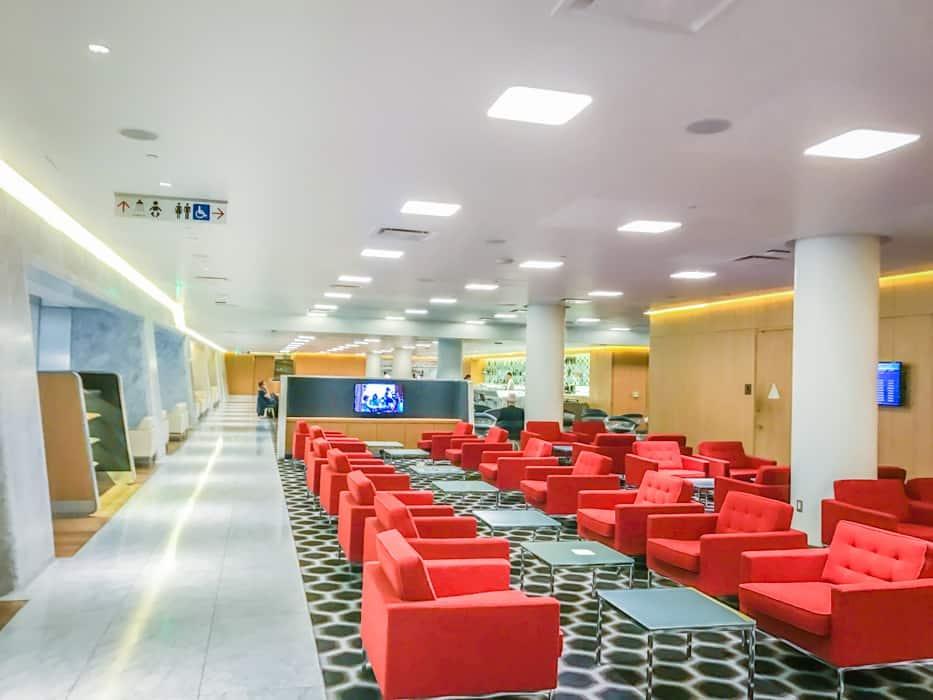 Qantas First Class Lounge LAX