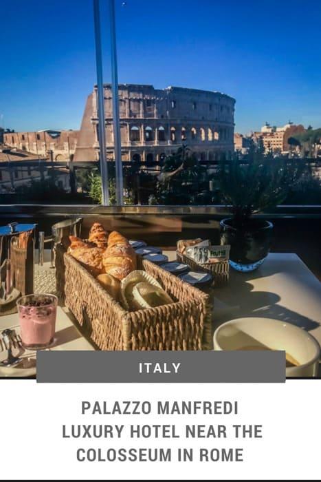 Palazzo Manfredi 5 Star Luxury Hotel Near The Colosseum Rome