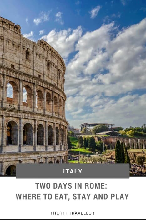 Two Days in Rome - Where to eat, stay and play with just 48 hours in Rome, Italy. We have the must-visit sites and some local favourite spots included in this two day itinerary. | Rome Travel Guide | What to do in Rome | Things to see in Rome | What to see in Rome | Local's Guide to Rome | Where to stay in Rome | #rome #visititaly #luxurytravel #travelguide