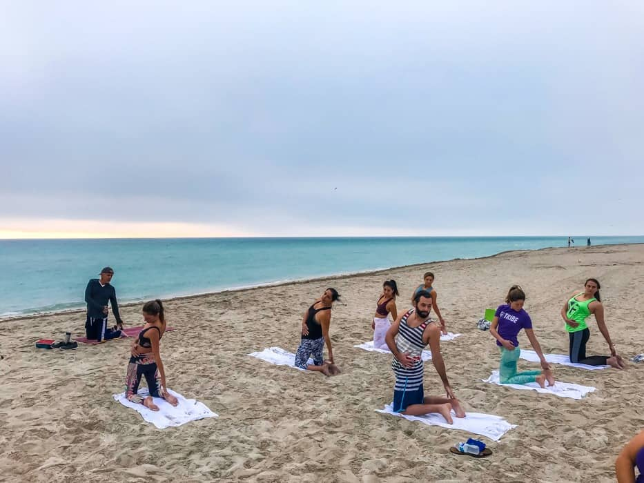 yoga in miami