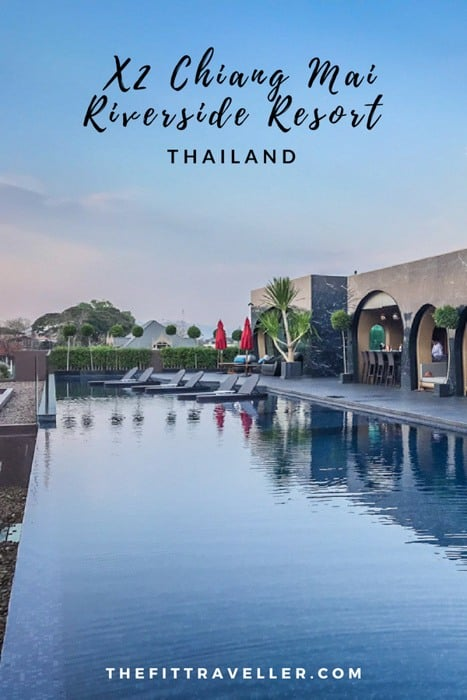 X2 Chiang Mai Riverside Resort is a 5 star luxury hotel in Chiang Mai. When searching where to stay in Chiang Mai, this 5 star boutique hotel with a rooftop pool overlooking Chiang Mai and a Michelin Star restaurant offering french food in Chiang Mai, this is the perfect honeymoon hotel in Chiang Mai. | Best Hotels in Chiang Mai | Luxury hotels Chiang Mai | #chiangmai #thailand #luxuryhotels #travel #hotels