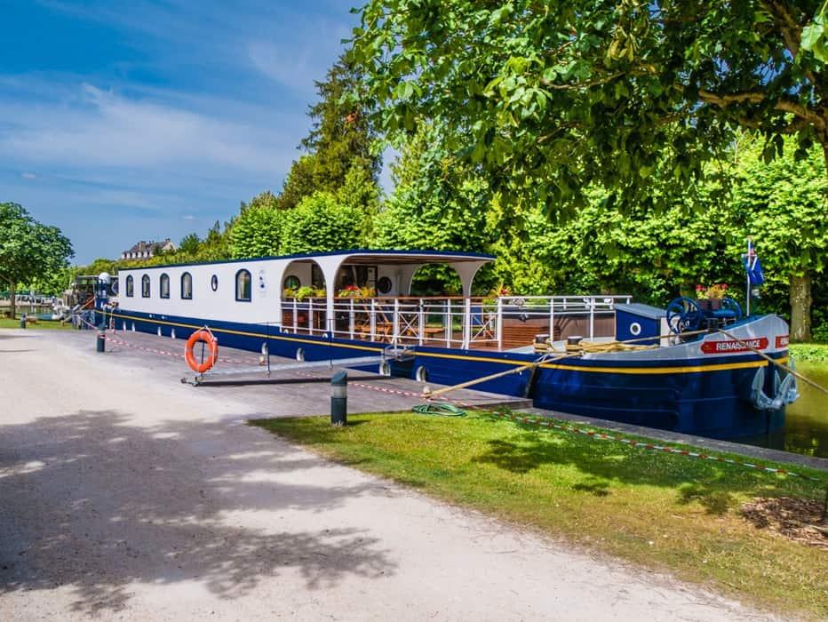 barge holidays france
