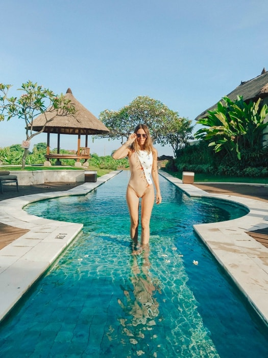 best Bali hotel pools