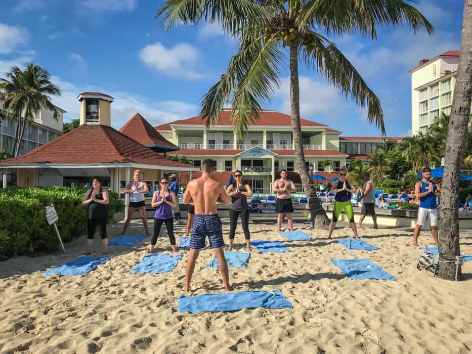 caribbean fitness holiday