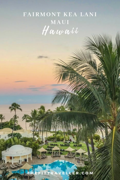 For those looking for where to stay in Maui. We checked into the Fairmont Kea Lani on Maui Hawaii. This Maui travel guide gives you travel tips and shows you this five-star Hawaii hotel, a Maui beach resort perfect for a family holiday or Maui honeymoon. #hawaii #maui #hotels #traveltips #travelguide