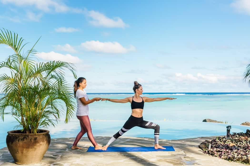 yoga in the cook islands