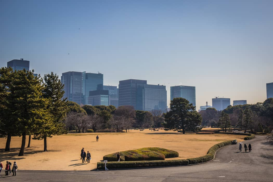 East Gardens of the Imperial Palace Tokyo