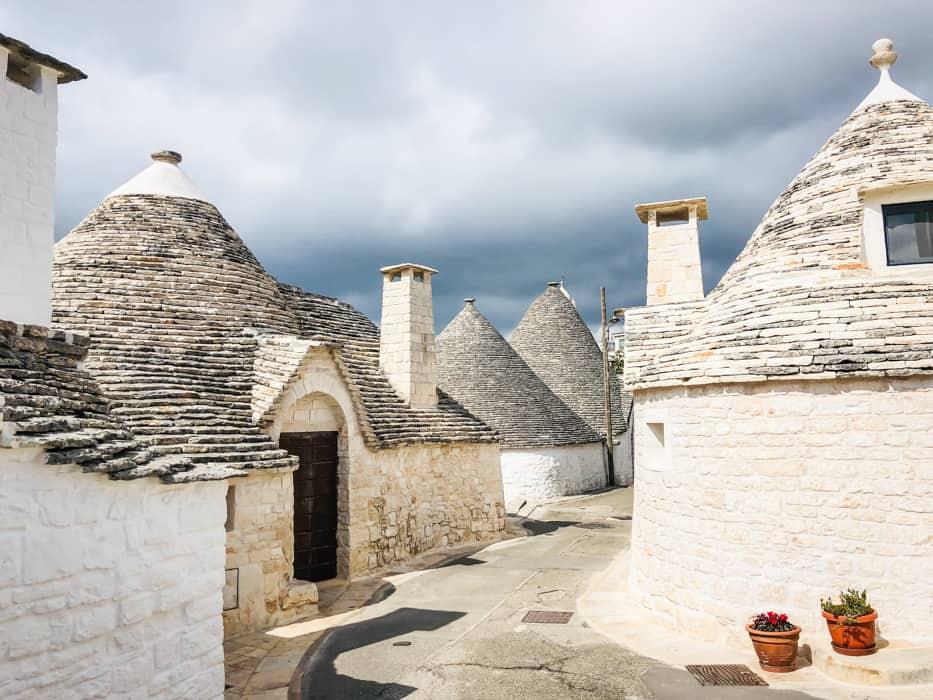 trulli houses Aberobello