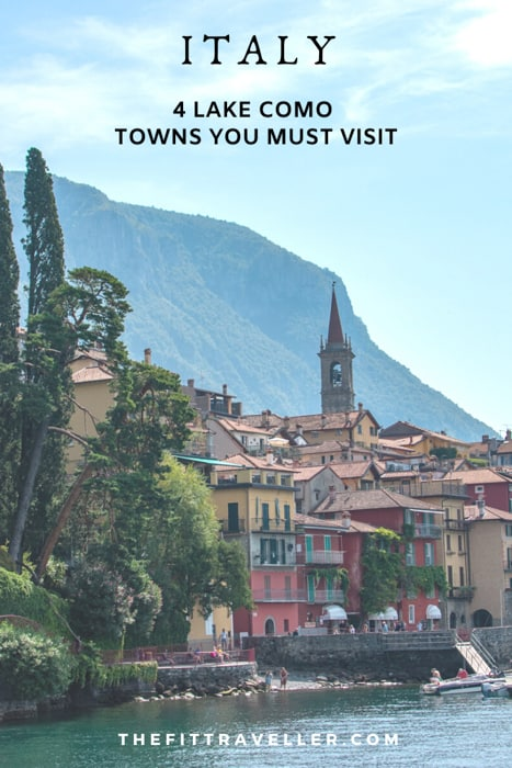 Things to do in Lake Como towns you must visit. What to do and see in Menaggio, Bellagio, Nesso and Varenna. How to get to Como and where to eat during your day trip to Lake Como or your Lake Como holiday. #lakecomo #como #traveltips #travelphotography