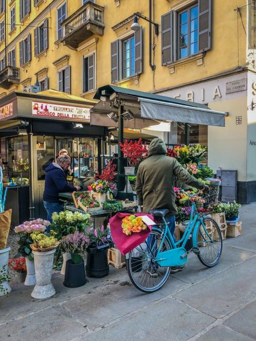 Milan markets