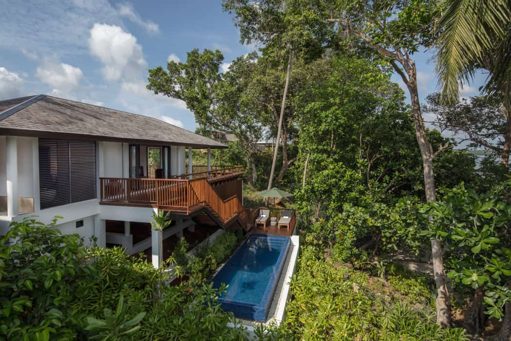the residence bintan villa