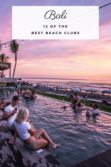 The best beach clubs in Bali. When it comes to the best things to do in Bali, going to a beach club is top of the Bali to do list. Bali beach clubs range from small beachside clubs to huge day clubs to party at. These are a few of the best Bali beach clubs right now. @thefittraveller #bali #traveltips #travelguide #travel