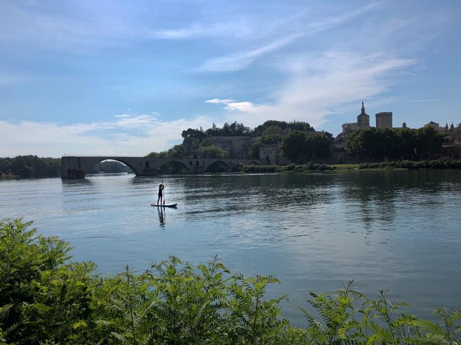 SUP in Avignon