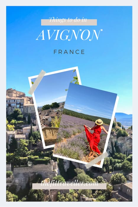 A guide to things to do in Avignon France. From the famous Provence lavender fields to where to eat in Avignon and day tips from Avignon, we share our top tips for Provence, Avignon photography spots. #traveltips #france #provencephotography #travelguide @thefittraveller