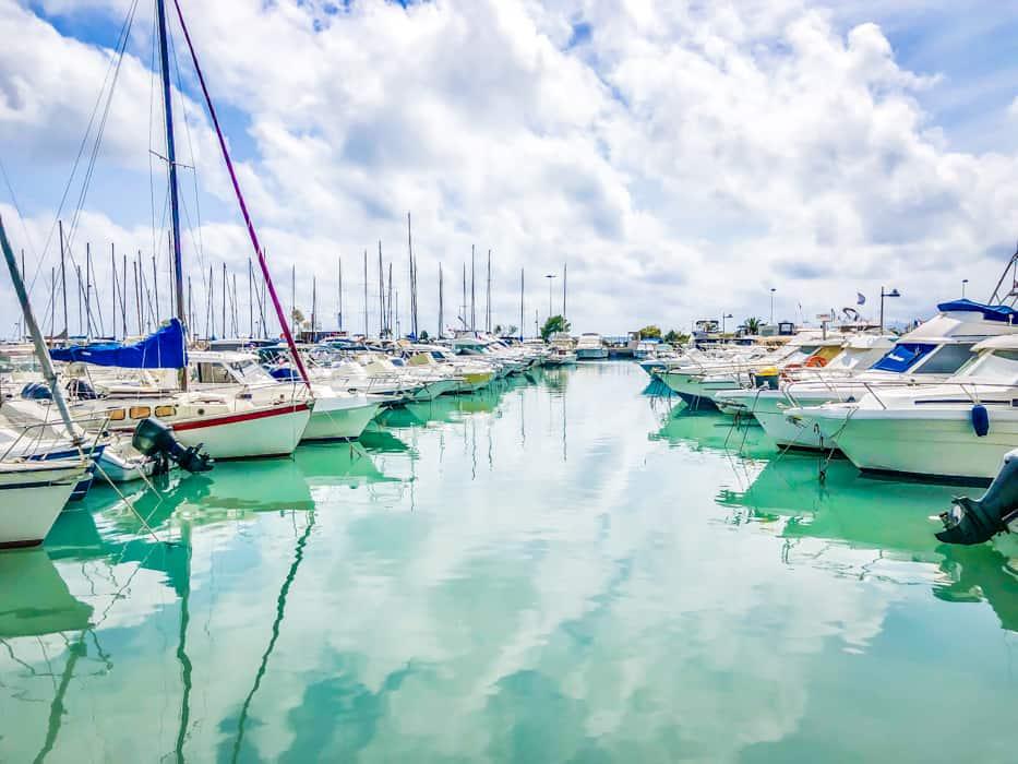 Cap d'Antibes France jetty