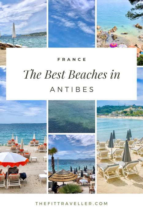 The best beaches in Antibes and cap d'Antibes beach clubs you must visit. One of the top things to do in Antibes for families. These are the best beach clubs in Antibes.