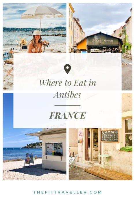 Our guide for where to eat in Antibes France. From the best restaurants in Antibes to where to eat in Antibes old town and michelin star restaurants you must try.